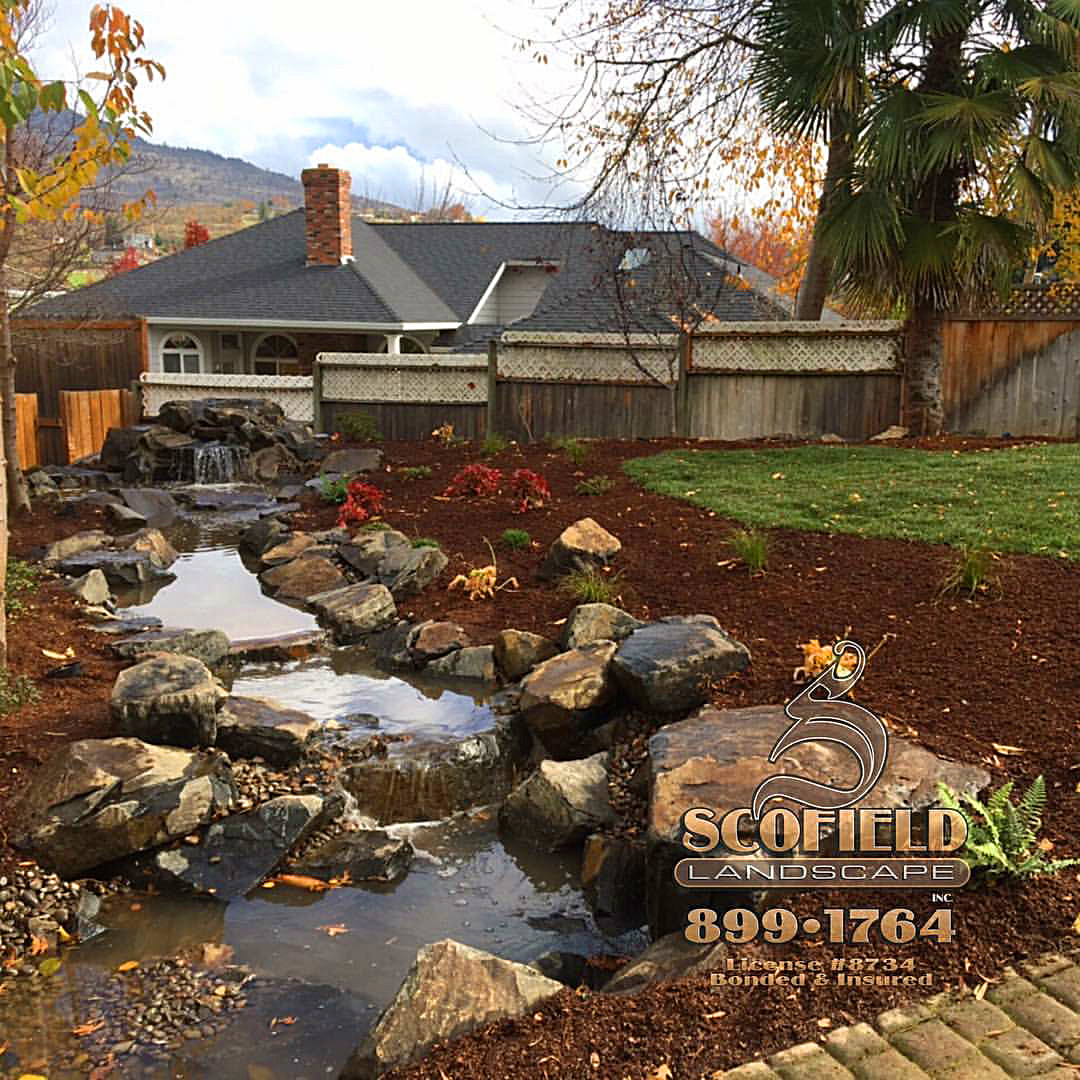 Water Features - Scofield Landscape - Medford, Oregon 97501